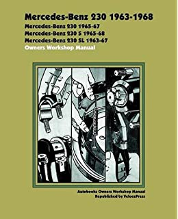 Mercedes benz 230 250 and 280 1968 1972 6 cylinder sohc sedan mercedes benz 230 1963 1968 owners workshop manual autobooks fandeluxe Gallery