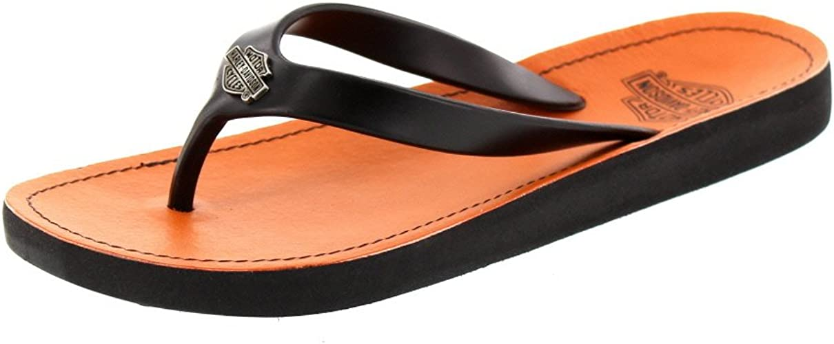 Ladies CABRINI Slip On Toe Post Sandals By Harley Davidson £19.99