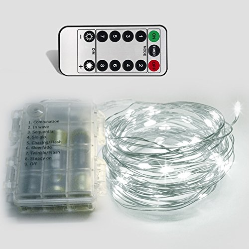 Battery Powered Mini Led String Lights White : SMITECentral Shop