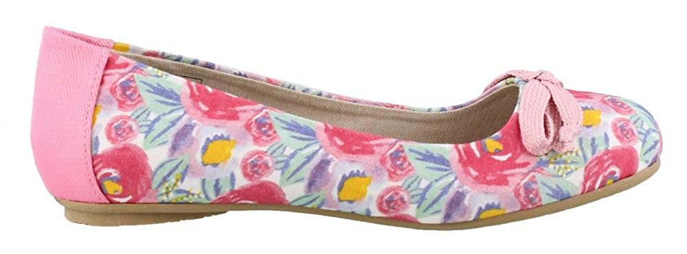 Elan Polo International Girls Dr Scholl Kids Gwen Slip On Flats