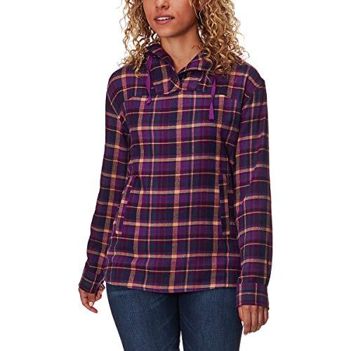 Marmot Women's Shelley Midweight Flannel Long Sleeve Grape Small