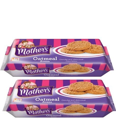Mother's Oatmeal Cookies Baked with pride, 12.5 Ounce,Pack of 2