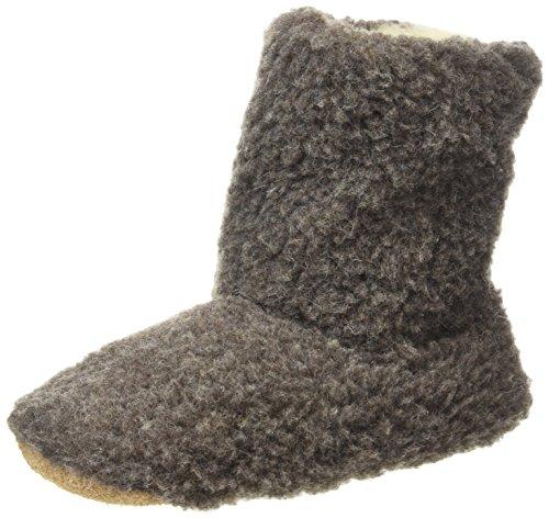 Woolsies Aconca Natural Wool Slipper Booties Herren Schuhe mit Warmfutter braun (Marrone (Brown (Latte Brown)))