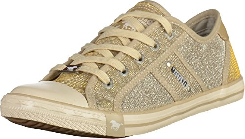 Mujer Mustang1099308 480 Champagner Zapatillas Gold 4TAx6T