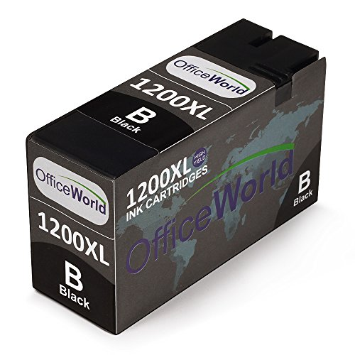 Office World Replacement For Canon PGI-1200XL Black Ink Cartridges ,Compatible With Canon Maxify MB2020 Maxify MB2320 MB2120 MB2720 Printer Photo #2