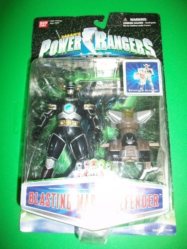 Power Galaxy Rangers (Power Rangers Lost Galaxy Blasting Magna Defender Ranger LG Action Figure MOSC MOC NEW Bandai 1998)