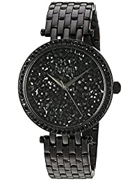 CARAVELLE NEW YORK Womens 45L147 Dress Black Dial Watch