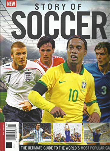 STORY OF SOCCER, THE ULTIMATE GUIDE TO THE WORLD'S MOST POPULAR GAME. ISSUE,2018 ISSUE # 01 DISPLAY UNTIL AUGUST, 22nd 2018 ( PLEASE NOTE : WRINKLE OR ROUGH OR BENT ACROSS TOP SIDE OF FRONT COVER PAGE. INSIDE THE MAGAZINE PAGES ARE FRESH & CRISP. FOR MORE DETAILS, PLEASE CHECK PICTURE. ) LIKE NEW CONDITION