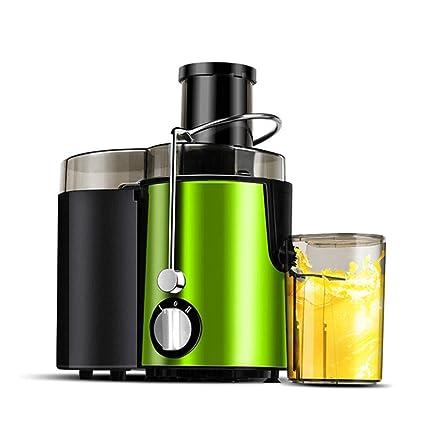 DYY Exprimidor automático doméstico Multifuncional Separador de Jugo de escoria de Frutas y Vegetales Almacenamiento de