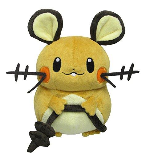 "Sanei Pokemon All Star Series Dedenne Stuffed Plush, 7"""