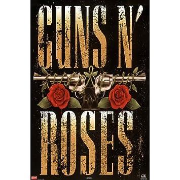 24 inch by 36 inch 21 80/'s Vintage Eighties Art Photo Poster GUNS N ROSES