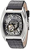 Kenneth Cole New York Men's Automatic Stainless Steel and Leather Dress Watch, Color:Black (Model: 10030811)