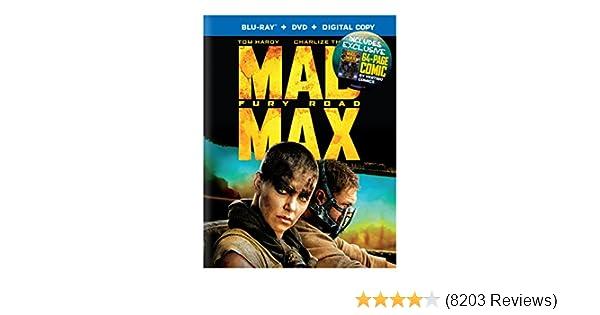 Amazon.com: Mad Max Furia En El Camino (BD+DVD+Comic) Español Latino: Movies & TV