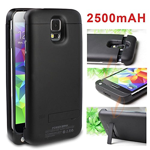 Galaxy S5 battery case external backup power pack rechargeable cover for Samsung