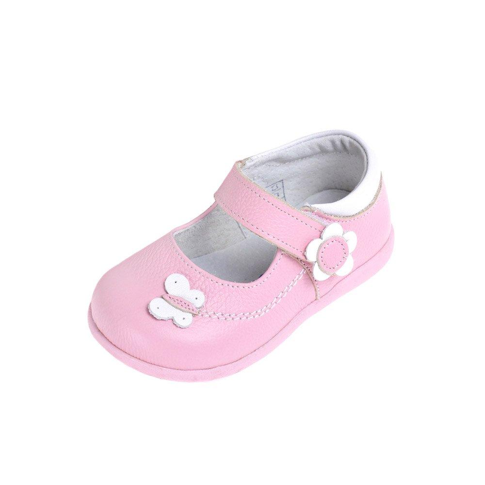 HLT Toddler/Little Kid Merry Butterfly Flower Pink Mary Jane Dress Shoe [US 9 / EU 25]