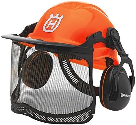 Husqvarna 576 41 24-01 Naranja casco de protección y seguridad - Casco de seguridad