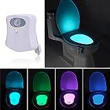 ILOVEDIY Led Toilet Bowl Night Light lighter Motion Activated Bathroom Washroom Change the Color