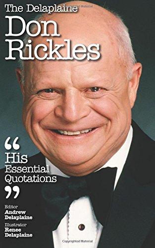 Download The Delaplaine DON RICKLES - His Essential Quotations (Delaplaine Essential Quotations) pdf epub