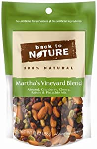 Back to Nature Marthas Vineyard Blend Trail Mix, 10 Ounce Bags (Pack of 3)