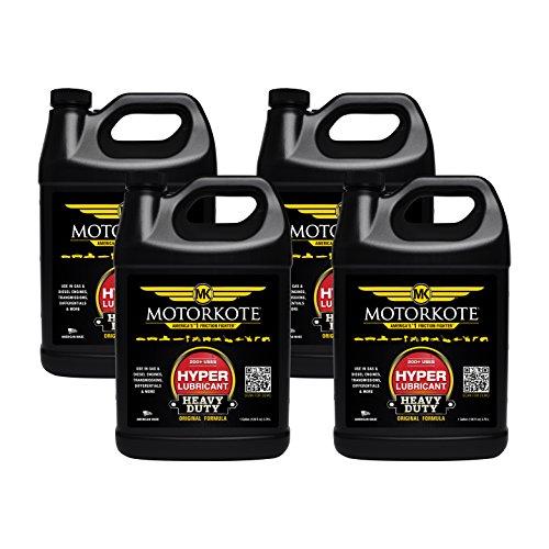 Motorkote MK-ET01G-04-4PK Black Hyper Lubricant - 1 Gallon, (Pack of 4) (Hyper Lubricant)