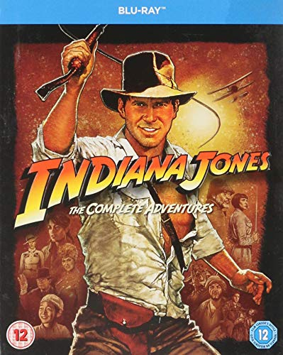 Indiana Jones The Complete Adventures [Blu-ray] (Region -