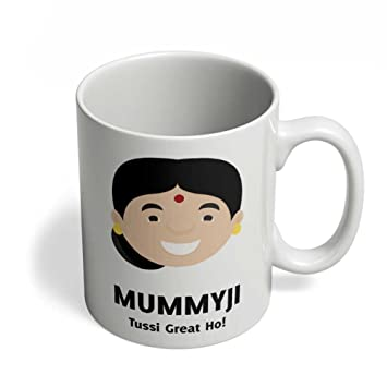 Mummyji Mummy You Are Great Punjabi Gift For Indian Mom Mother In Law From Son