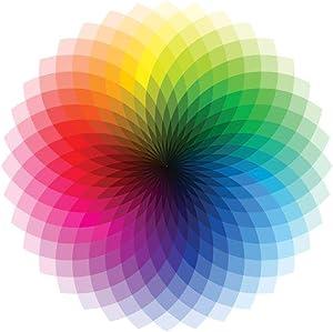 Color Wheel CMYK ROYGBIV Rainbow Spectrum Chart Cool Wall Decor Art Print Poster 24x36