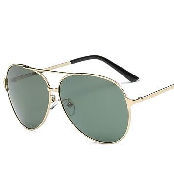 ZYZHjy Hombres Gafas De Sol Polarizadas,Verde Oscuro Film