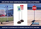 US Weight Sign Kit - Post, Scratch-Resistant