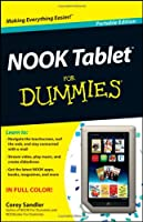 NOOK Tablet For Dummies Front Cover