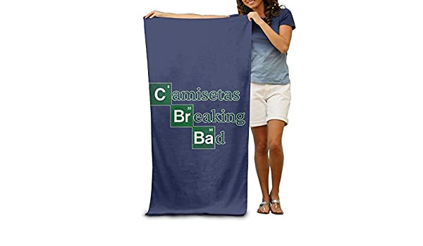 Amazon.com: Ongyeyuan Camisetas Breaking Bad Unisex Personalized Highly Absorbent Bath Towel Soft Beach Towel: Home & Kitchen