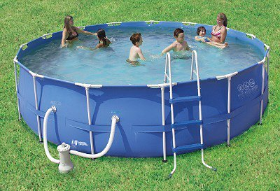 amazoncom summer escapes 15 x 48 round swimming pool set toys games