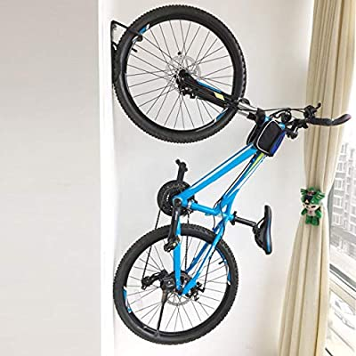 Qewmsg Steel Bicycle Wall Rack Mount Bike Gancho de la Suspensión ...