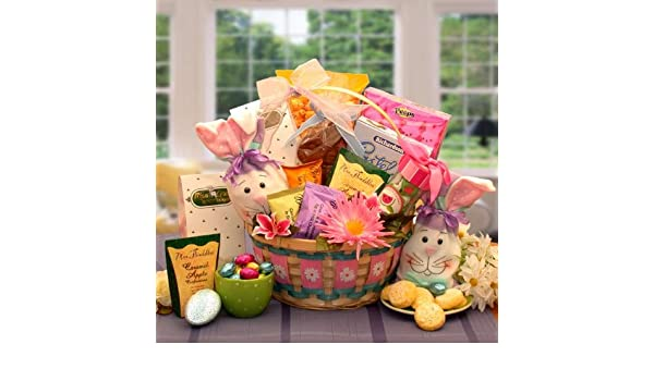 Amazon easter basket for boys and girls easter deluxe amazon easter basket for boys and girls easter deluxe basket gourmet baked goods gifts grocery gourmet food negle Images