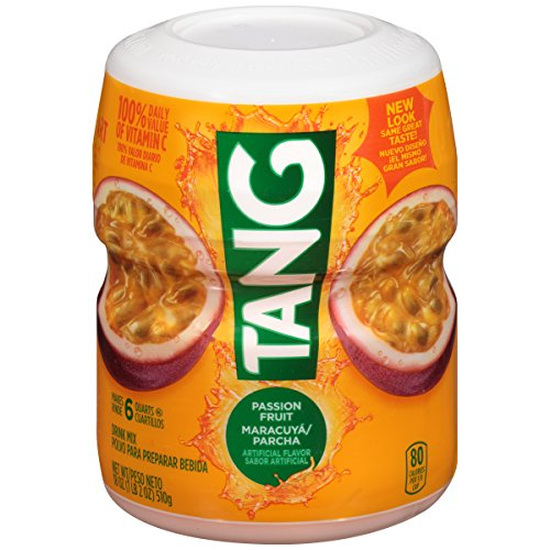Tang Passion Fruit Powdered Drink Mix (18 oz Jars, Pack of -