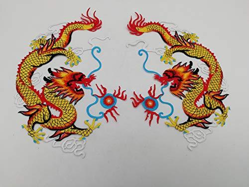 2 piezas de ropa de bordado bricolaje parches decoraciones bordadas adornos bordados cheongsam Artesanía Manualidad...