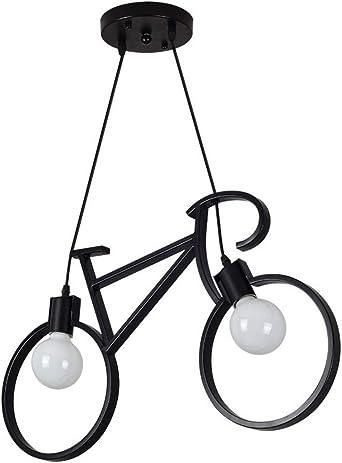 Creativo Bicicleta Lámpara Colgante,moderno Niño] Hierro] Lámparas ...