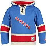df8895295 Old Time Hockey NHL New York Rangers Henrik Lundqvist Youth Player Lacer  Name   Number Hoodie