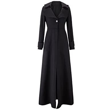 7d947e764b6 Amazon.com  LANMWORN Women Ultra Long Outerwear