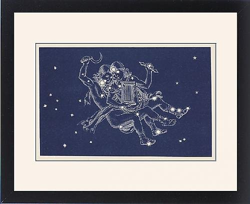 Framed Print of Gemini by Prints Prints Prints