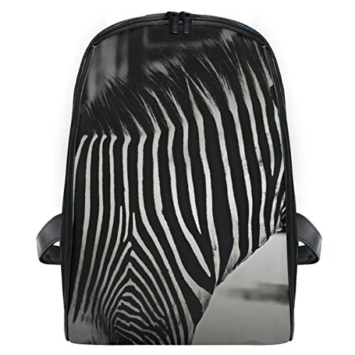Orange Zebra Mini Backpack - Lovely Zebras School Backpack For Girls Kids Elementary School Bag Mini Backpacks