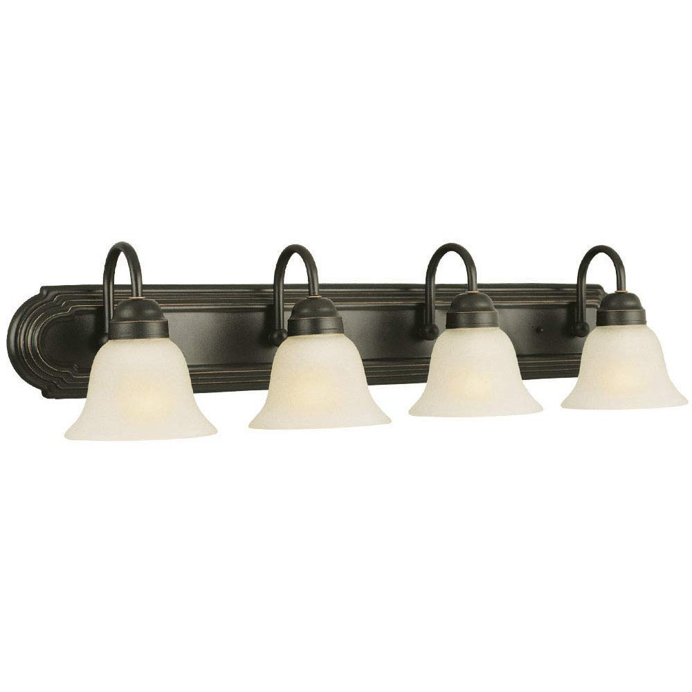 Design House 506626 Allante 4 Light Vanity Light, Oil Rubbed Bronze by Design House