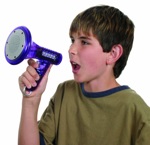 Multi Voice Changer by Toysmith: Change your voice with 8 different voice modifiers - Kids Toy (Colors May Vary)