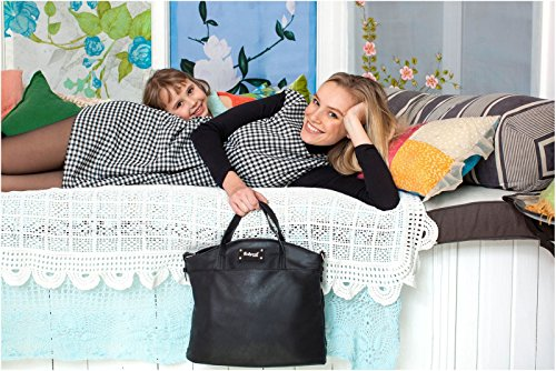 Babymel Wickeltasche Grace Black - BM6457