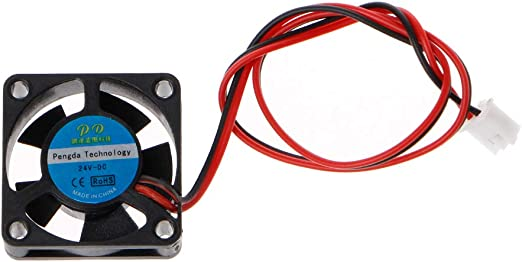 Junlinto, Ventilador de Impresora 3D 3010 24V 2Pin 30x30x10mm ...