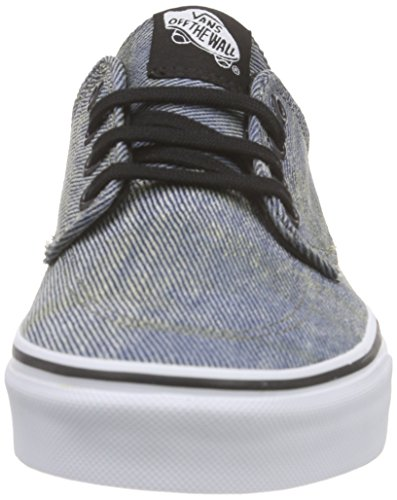 Vans Unisex-Erwachsene Brigata Low-Top Schwarz (acid Denim/blue/black)
