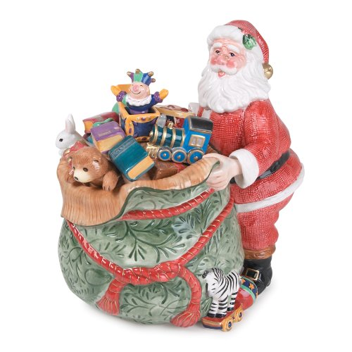 Floyd Old Fashioned - Fitz and Floyd Old Fashioned Christmas Cookie Jar