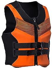 Life Jackets for Adults, L-XXXXL Plus Size Ultra-Thin Big Buoyancy Adult Life Vest Jacke, Life Jackets for Adults, Buoyancy Vest, Personal Aid Jacket for Women Men
