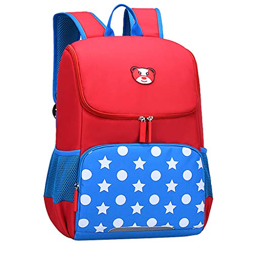 Lomsarsh Schoolbag for Girl Fashion Large Capacity Waterproof and Load-reducing Cartoon Kids Backpack Girls Fashion Casual Large Capacity Waterproof Offload Cartoon Backpack