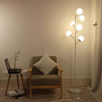 Lámpara de pie de la minimalista postmodernista del hierro ...
